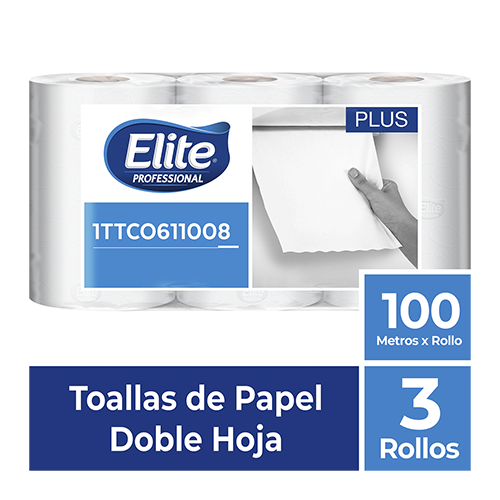 TO ELITE ROLLO DH BLANCA x 3 - 100 mts