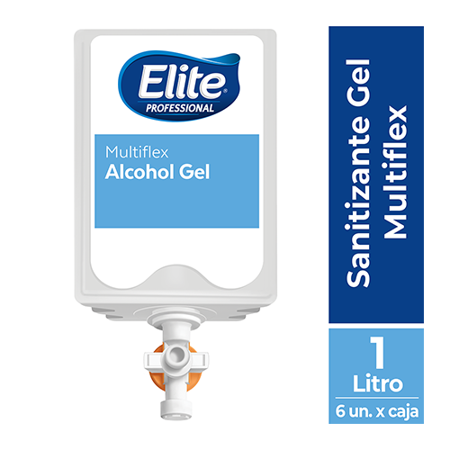 SANITIZANTE ELITE GEL MULTIFLEX x 1000 ML