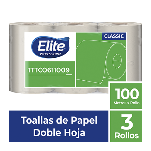 TO ELITE ROLLO DH NATURAL x 3 - 100 mts