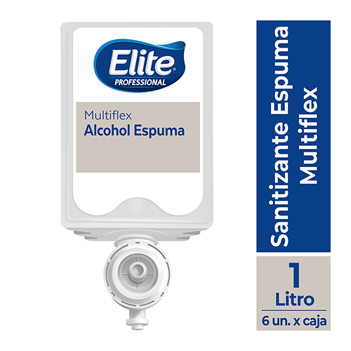 SANITIZANTE ELITE ESPUMA MULTIFLEX x 1000 ML