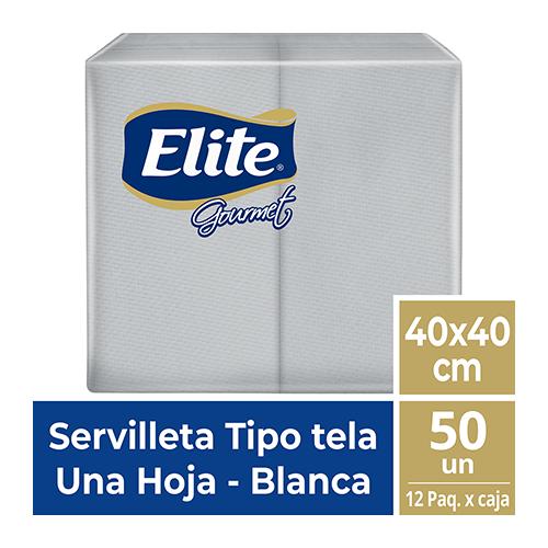SE ELITE GOURMET 1/8 BLANCA TIPO TELA