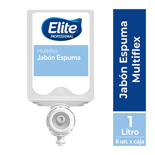 JABON ELITE ESPUMA MULTIFLEX x 1000 ML