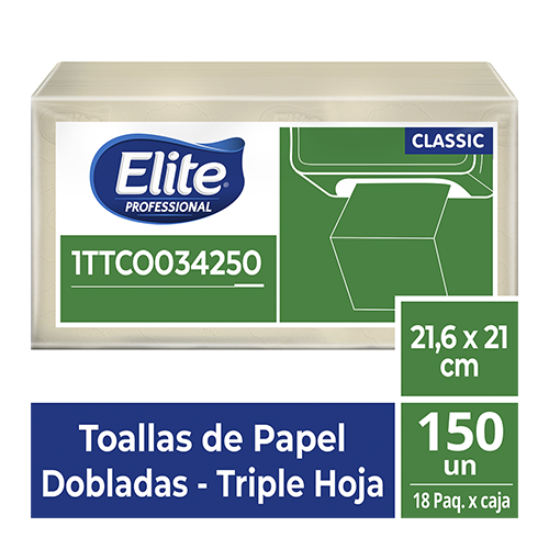 TO ELITE INTERFOLD TH NATURAL STD x 150/18